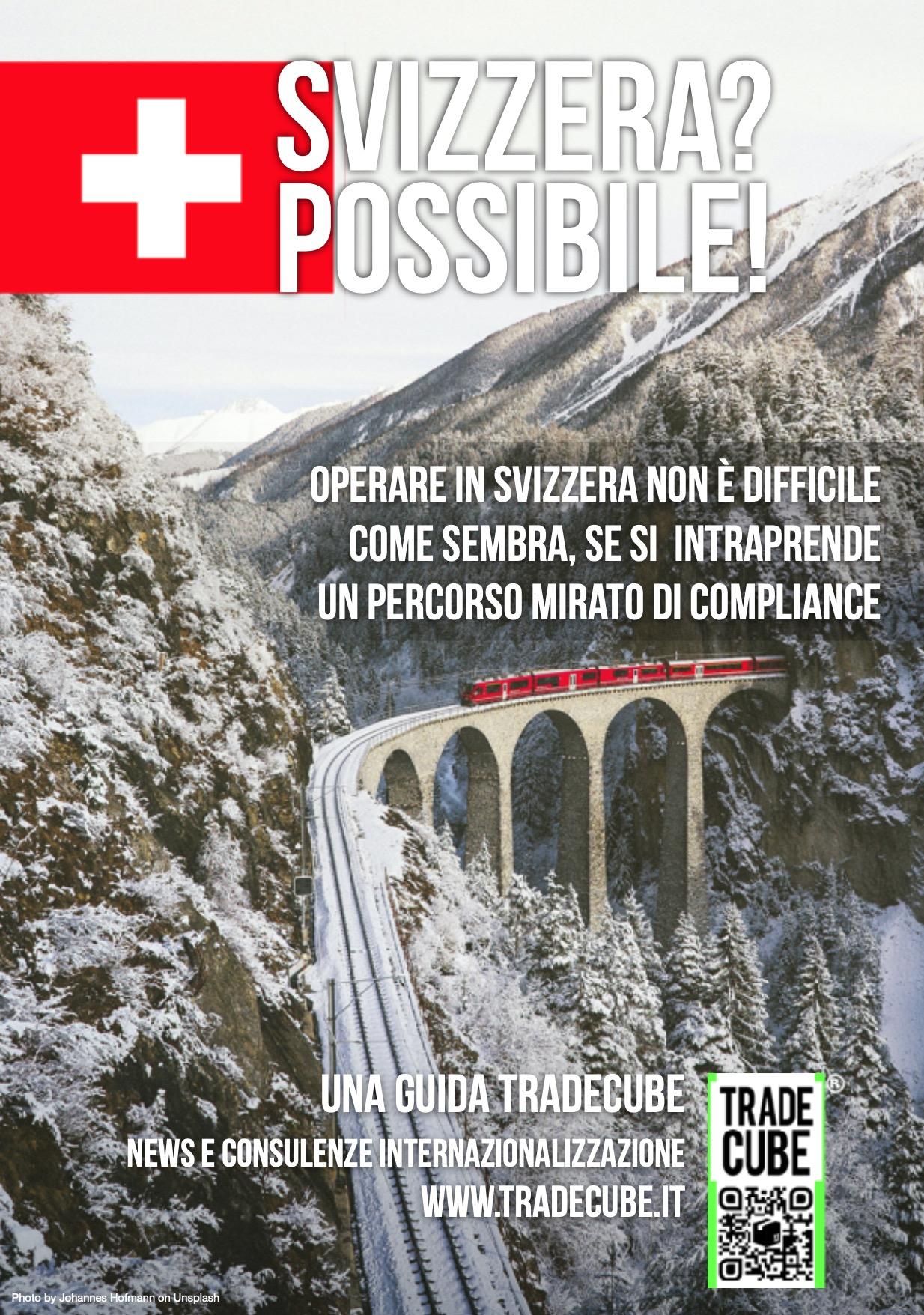 esportare operare vendere in svizzera